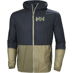 Helly Hansen Active Windbreaker Jacket Herre graphite blue